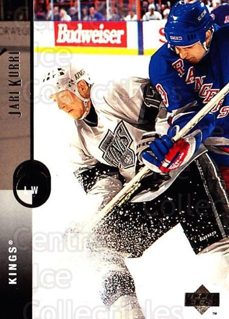 1994-95 Upper Deck #293 Jari Kurri<br/>6 In Stock - $1.00 each - <a href=https://centericecollectibles.foxycart.com/cart?name=1994-95%20Upper%20Deck%20%23293%20Jari%20Kurri...&quantity_max=6&price=$1.00&code=183929 class=foxycart> Buy it now! </a>