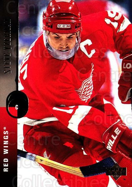 1994-95 Upper Deck #300 Steve Yzerman<br/>5 In Stock - $2.00 each - <a href=https://centericecollectibles.foxycart.com/cart?name=1994-95%20Upper%20Deck%20%23300%20Steve%20Yzerman...&quantity_max=5&price=$2.00&code=183938 class=foxycart> Buy it now! </a>