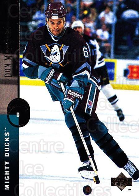 1994-95 Upper Deck #301 Don McSween<br/>3 In Stock - $1.00 each - <a href=https://centericecollectibles.foxycart.com/cart?name=1994-95%20Upper%20Deck%20%23301%20Don%20McSween...&quantity_max=3&price=$1.00&code=183939 class=foxycart> Buy it now! </a>