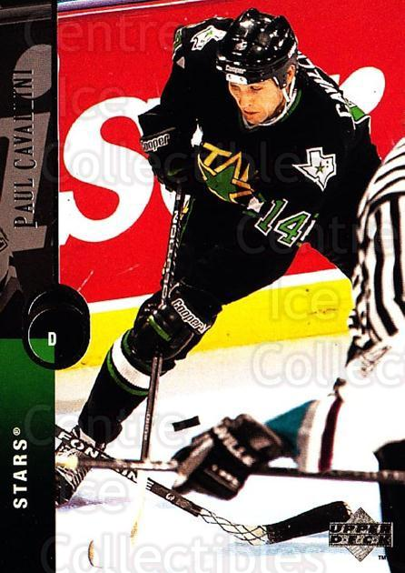 1994-95 Upper Deck #311 Paul Cavallini<br/>5 In Stock - $1.00 each - <a href=https://centericecollectibles.foxycart.com/cart?name=1994-95%20Upper%20Deck%20%23311%20Paul%20Cavallini...&quantity_max=5&price=$1.00&code=183950 class=foxycart> Buy it now! </a>
