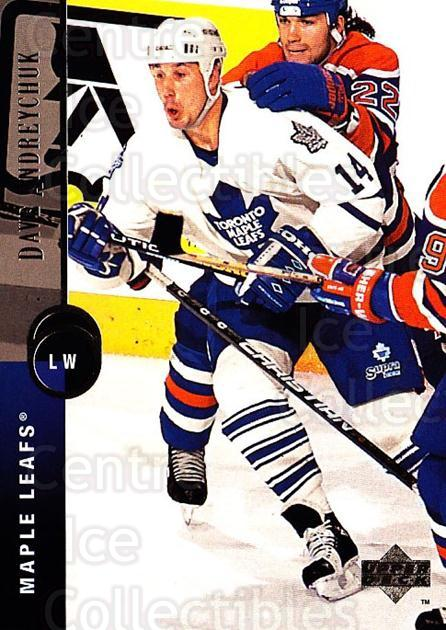 1994-95 Upper Deck #313 Dave Andreychuk<br/>6 In Stock - $1.00 each - <a href=https://centericecollectibles.foxycart.com/cart?name=1994-95%20Upper%20Deck%20%23313%20Dave%20Andreychuk...&quantity_max=6&price=$1.00&code=183952 class=foxycart> Buy it now! </a>