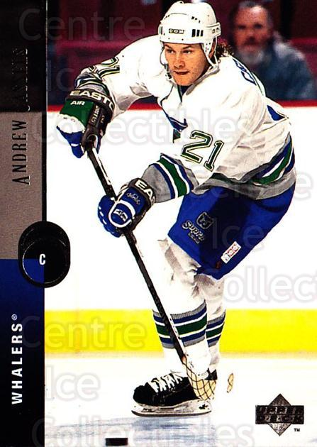 1994-95 Upper Deck #317 Andrew Cassels<br/>7 In Stock - $1.00 each - <a href=https://centericecollectibles.foxycart.com/cart?name=1994-95%20Upper%20Deck%20%23317%20Andrew%20Cassels...&quantity_max=7&price=$1.00&code=183956 class=foxycart> Buy it now! </a>