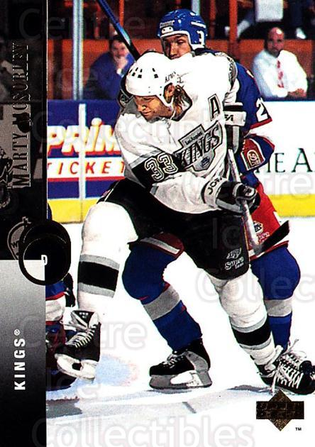 1994-95 Upper Deck #33 Marty McSorley<br/>7 In Stock - $1.00 each - <a href=https://centericecollectibles.foxycart.com/cart?name=1994-95%20Upper%20Deck%20%2333%20Marty%20McSorley...&quantity_max=7&price=$1.00&code=183970 class=foxycart> Buy it now! </a>