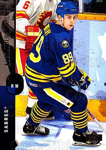 1994-95 Upper Deck #334 Alexander Mogilny<br/>6 In Stock - $1.00 each - <a href=https://centericecollectibles.foxycart.com/cart?name=1994-95%20Upper%20Deck%20%23334%20Alexander%20Mogil...&quantity_max=6&price=$1.00&code=183975 class=foxycart> Buy it now! </a>