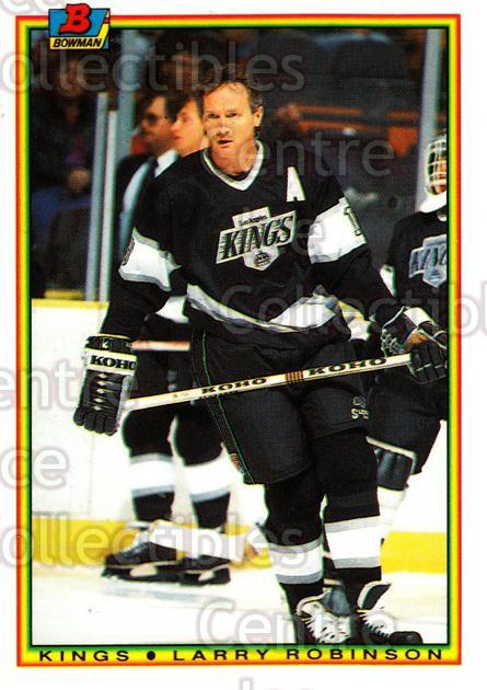 1990-91 Bowman Tiffany #150 Larry Robinson<br/>10 In Stock - $2.00 each - <a href=https://centericecollectibles.foxycart.com/cart?name=1990-91%20Bowman%20Tiffany%20%23150%20Larry%20Robinson...&quantity_max=10&price=$2.00&code=18397 class=foxycart> Buy it now! </a>