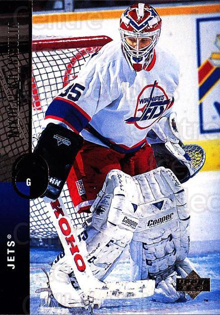 1994-95 Upper Deck #420 Nikolai Khabibulin<br/>6 In Stock - $1.00 each - <a href=https://centericecollectibles.foxycart.com/cart?name=1994-95%20Upper%20Deck%20%23420%20Nikolai%20Khabibu...&quantity_max=6&price=$1.00&code=184067 class=foxycart> Buy it now! </a>