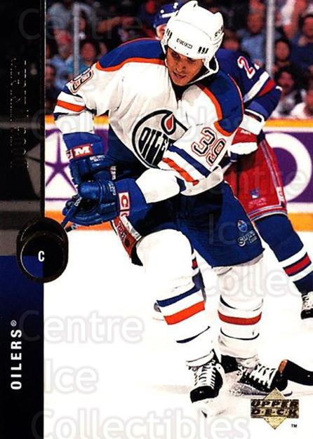 1994-95 Upper Deck #44 Doug Weight<br/>6 In Stock - $1.00 each - <a href=https://centericecollectibles.foxycart.com/cart?name=1994-95%20Upper%20Deck%20%2344%20Doug%20Weight...&quantity_max=6&price=$1.00&code=184088 class=foxycart> Buy it now! </a>