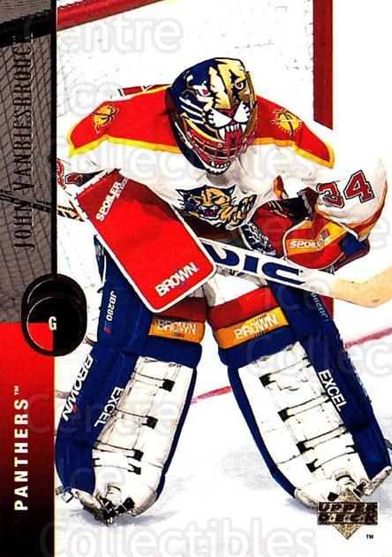 1994-95 Upper Deck #46 John Vanbiesbrouck<br/>3 In Stock - $1.00 each - <a href=https://centericecollectibles.foxycart.com/cart?name=1994-95%20Upper%20Deck%20%2346%20John%20Vanbiesbro...&quantity_max=3&price=$1.00&code=184107 class=foxycart> Buy it now! </a>