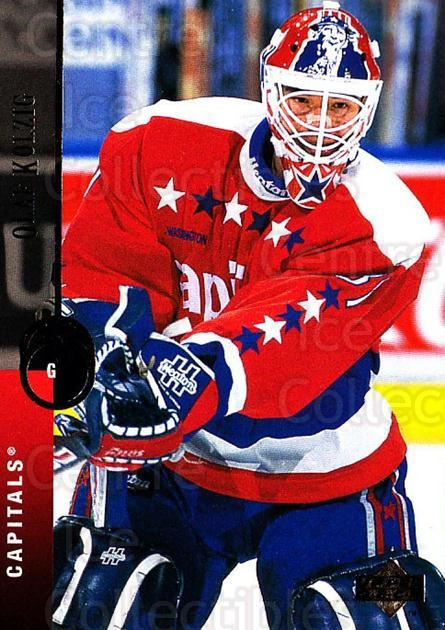 1994-95 Upper Deck #486 Olaf Kolzig<br/>6 In Stock - $1.00 each - <a href=https://centericecollectibles.foxycart.com/cart?name=1994-95%20Upper%20Deck%20%23486%20Olaf%20Kolzig...&quantity_max=6&price=$1.00&code=184136 class=foxycart> Buy it now! </a>