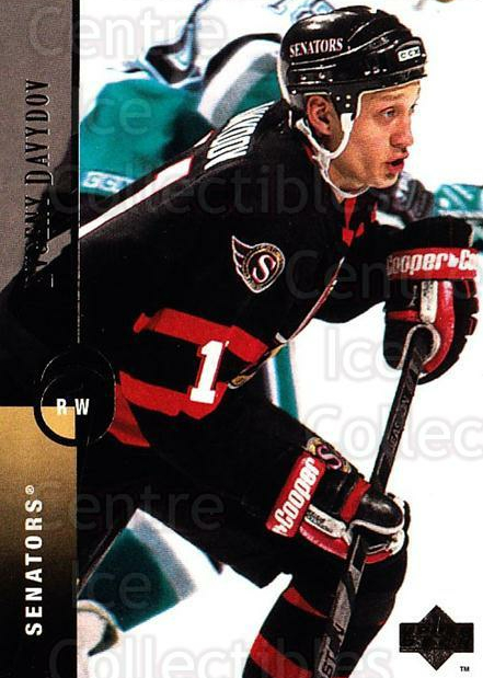 1994-95 Upper Deck #49 Evgeni Davydov<br/>6 In Stock - $1.00 each - <a href=https://centericecollectibles.foxycart.com/cart?name=1994-95%20Upper%20Deck%20%2349%20Evgeni%20Davydov...&quantity_max=6&price=$1.00&code=184139 class=foxycart> Buy it now! </a>