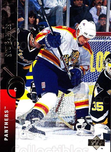 1994-95 Upper Deck #493 Stu Barnes<br/>6 In Stock - $1.00 each - <a href=https://centericecollectibles.foxycart.com/cart?name=1994-95%20Upper%20Deck%20%23493%20Stu%20Barnes...&quantity_max=6&price=$1.00&code=184143 class=foxycart> Buy it now! </a>