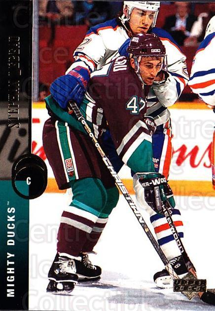 1994-95 Upper Deck #53 Stephan Lebeau<br/>7 In Stock - $1.00 each - <a href=https://centericecollectibles.foxycart.com/cart?name=1994-95%20Upper%20Deck%20%2353%20Stephan%20Lebeau...&quantity_max=7&price=$1.00&code=184183 class=foxycart> Buy it now! </a>