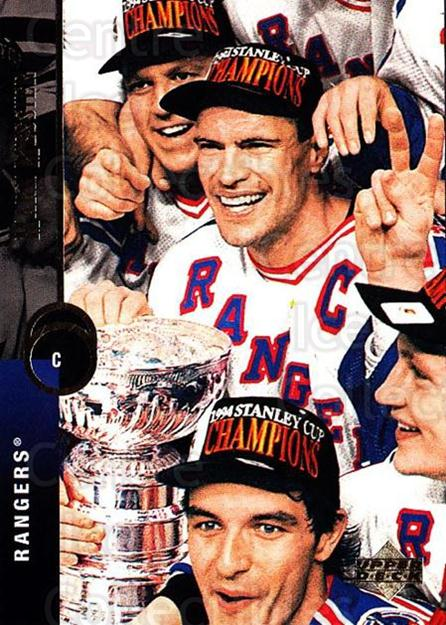 1994-95 Upper Deck #62 Mark Messier<br/>5 In Stock - $1.00 each - <a href=https://centericecollectibles.foxycart.com/cart?name=1994-95%20Upper%20Deck%20%2362%20Mark%20Messier...&quantity_max=5&price=$1.00&code=184234 class=foxycart> Buy it now! </a>