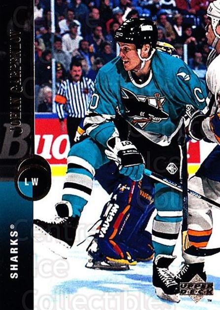 1994-95 Upper Deck #64 Johan Garpenlov<br/>7 In Stock - $1.00 each - <a href=https://centericecollectibles.foxycart.com/cart?name=1994-95%20Upper%20Deck%20%2364%20Johan%20Garpenlov...&quantity_max=7&price=$1.00&code=184236 class=foxycart> Buy it now! </a>