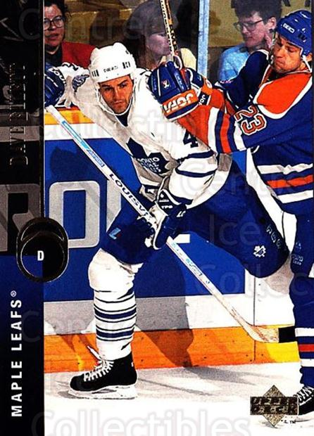1994-95 Upper Deck #67 Dave Ellett<br/>7 In Stock - $1.00 each - <a href=https://centericecollectibles.foxycart.com/cart?name=1994-95%20Upper%20Deck%20%2367%20Dave%20Ellett...&quantity_max=7&price=$1.00&code=184239 class=foxycart> Buy it now! </a>