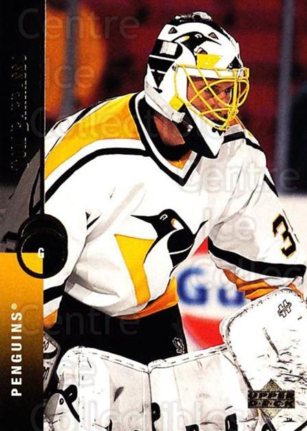 1994-95 Upper Deck #70 Tom Barrasso<br/>6 In Stock - $1.00 each - <a href=https://centericecollectibles.foxycart.com/cart?name=1994-95%20Upper%20Deck%20%2370%20Tom%20Barrasso...&quantity_max=6&price=$1.00&code=184243 class=foxycart> Buy it now! </a>
