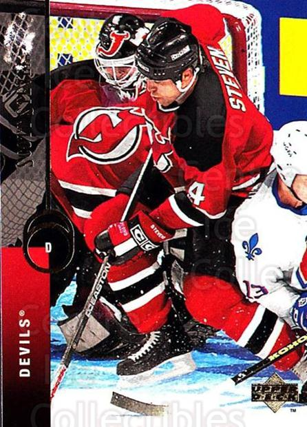 1994-95 Upper Deck #73 Scott Stevens<br/>4 In Stock - $1.00 each - <a href=https://centericecollectibles.foxycart.com/cart?name=1994-95%20Upper%20Deck%20%2373%20Scott%20Stevens...&quantity_max=4&price=$1.00&code=184246 class=foxycart> Buy it now! </a>