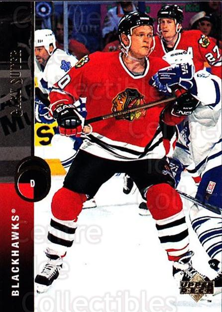 1994-95 Upper Deck #74 Gary Suter<br/>7 In Stock - $1.00 each - <a href=https://centericecollectibles.foxycart.com/cart?name=1994-95%20Upper%20Deck%20%2374%20Gary%20Suter...&quantity_max=7&price=$1.00&code=184247 class=foxycart> Buy it now! </a>