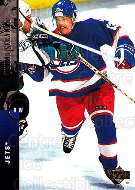 1994-95 Upper Deck #90 Teemu Selanne<br/>4 In Stock - $2.00 each - <a href=https://centericecollectibles.foxycart.com/cart?name=1994-95%20Upper%20Deck%20%2390%20Teemu%20Selanne...&quantity_max=4&price=$2.00&code=184265 class=foxycart> Buy it now! </a>