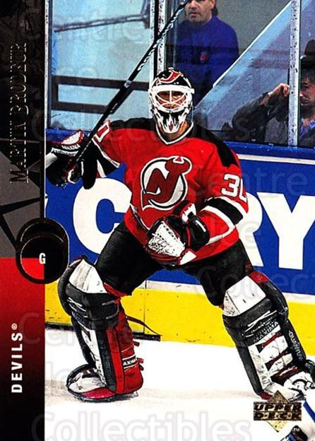 1994-95 Upper Deck #96 Martin Brodeur<br/>3 In Stock - $2.00 each - <a href=https://centericecollectibles.foxycart.com/cart?name=1994-95%20Upper%20Deck%20%2396%20Martin%20Brodeur...&price=$2.00&code=184271 class=foxycart> Buy it now! </a>