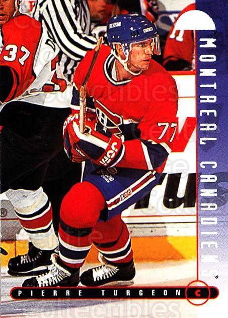 1995-96 Leaf #90 Pierre Turgeon<br/>5 In Stock - $1.00 each - <a href=https://centericecollectibles.foxycart.com/cart?name=1995-96%20Leaf%20%2390%20Pierre%20Turgeon...&quantity_max=5&price=$1.00&code=184455 class=foxycart> Buy it now! </a>