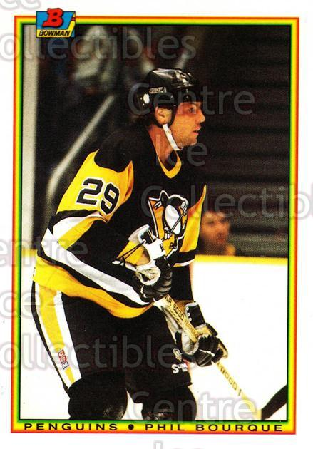 1990-91 Bowman Tiffany #205 Phil Bourque<br/>12 In Stock - $2.00 each - <a href=https://centericecollectibles.foxycart.com/cart?name=1990-91%20Bowman%20Tiffany%20%23205%20Phil%20Bourque...&quantity_max=12&price=$2.00&code=18454 class=foxycart> Buy it now! </a>
