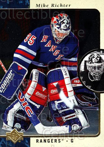 1995-96 SP #95 Mike Richter<br/>6 In Stock - $1.00 each - <a href=https://centericecollectibles.foxycart.com/cart?name=1995-96%20SP%20%2395%20Mike%20Richter...&quantity_max=6&price=$1.00&code=184599 class=foxycart> Buy it now! </a>