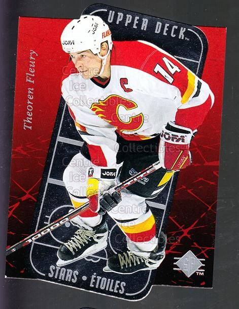 1995-96 SP Stars #6 Theo Fleury<br/>8 In Stock - $2.00 each - <a href=https://centericecollectibles.foxycart.com/cart?name=1995-96%20SP%20Stars%20%236%20Theo%20Fleury...&quantity_max=8&price=$2.00&code=184620 class=foxycart> Buy it now! </a>