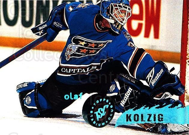 1995-96 Stadium Club #217 Olaf Kolzig<br/>5 In Stock - $1.00 each - <a href=https://centericecollectibles.foxycart.com/cart?name=1995-96%20Stadium%20Club%20%23217%20Olaf%20Kolzig...&quantity_max=5&price=$1.00&code=184628 class=foxycart> Buy it now! </a>