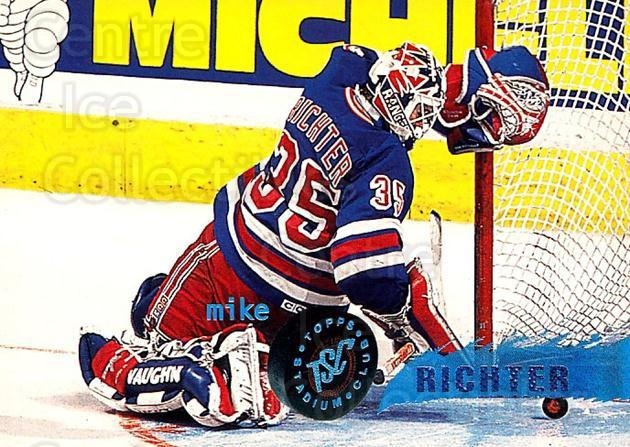 1995-96 Stadium Club #49 Mike Richter<br/>5 In Stock - $1.00 each - <a href=https://centericecollectibles.foxycart.com/cart?name=1995-96%20Stadium%20Club%20%2349%20Mike%20Richter...&quantity_max=5&price=$1.00&code=184666 class=foxycart> Buy it now! </a>