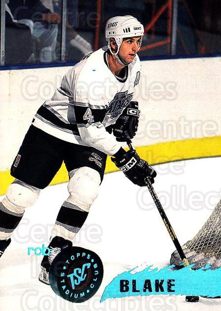 1995-96 Stadium Club #56 Rob Blake<br/>5 In Stock - $1.00 each - <a href=https://centericecollectibles.foxycart.com/cart?name=1995-96%20Stadium%20Club%20%2356%20Rob%20Blake...&quantity_max=5&price=$1.00&code=184673 class=foxycart> Buy it now! </a>