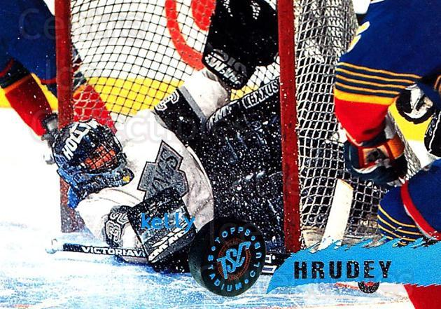 1995-96 Stadium Club #8 Kelly Hrudey<br/>4 In Stock - $1.00 each - <a href=https://centericecollectibles.foxycart.com/cart?name=1995-96%20Stadium%20Club%20%238%20Kelly%20Hrudey...&quantity_max=4&price=$1.00&code=184699 class=foxycart> Buy it now! </a>