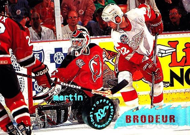 1995-96 Stadium Club #85 Martin Brodeur<br/>5 In Stock - $2.00 each - <a href=https://centericecollectibles.foxycart.com/cart?name=1995-96%20Stadium%20Club%20%2385%20Martin%20Brodeur...&price=$2.00&code=184705 class=foxycart> Buy it now! </a>