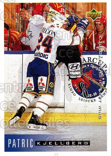 1995-96 Swedish Upper Deck #53 Patric Kjellberg<br/>9 In Stock - $2.00 each - <a href=https://centericecollectibles.foxycart.com/cart?name=1995-96%20Swedish%20Upper%20Deck%20%2353%20Patric%20Kjellber...&price=$2.00&code=184799 class=foxycart> Buy it now! </a>