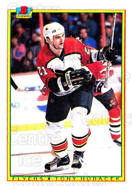 1990-91 Bowman #104 Tony Horacek<br/>6 In Stock - $1.00 each - <a href=https://centericecollectibles.foxycart.com/cart?name=1990-91%20Bowman%20%23104%20Tony%20Horacek...&quantity_max=6&price=$1.00&code=18479 class=foxycart> Buy it now! </a>