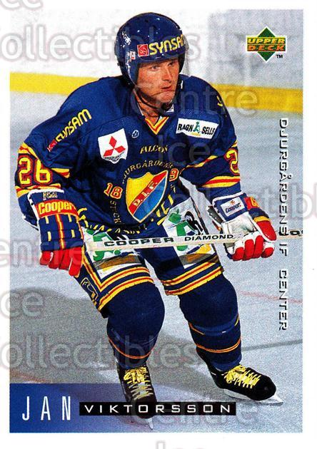 1995-96 Swedish Upper Deck #55 Jan Viktorsson<br/>9 In Stock - $2.00 each - <a href=https://centericecollectibles.foxycart.com/cart?name=1995-96%20Swedish%20Upper%20Deck%20%2355%20Jan%20Viktorsson...&price=$2.00&code=184800 class=foxycart> Buy it now! </a>