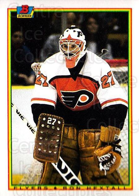 1990-91 Bowman #105 Ron Hextall<br/>3 In Stock - $1.00 each - <a href=https://centericecollectibles.foxycart.com/cart?name=1990-91%20Bowman%20%23105%20Ron%20Hextall...&quantity_max=3&price=$1.00&code=18480 class=foxycart> Buy it now! </a>