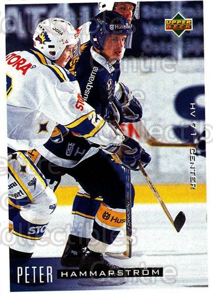 1995-96 Swedish Upper Deck #85 Peter Hammarstrom<br/>12 In Stock - $2.00 each - <a href=https://centericecollectibles.foxycart.com/cart?name=1995-96%20Swedish%20Upper%20Deck%20%2385%20Peter%20Hammarstr...&price=$2.00&code=184813 class=foxycart> Buy it now! </a>