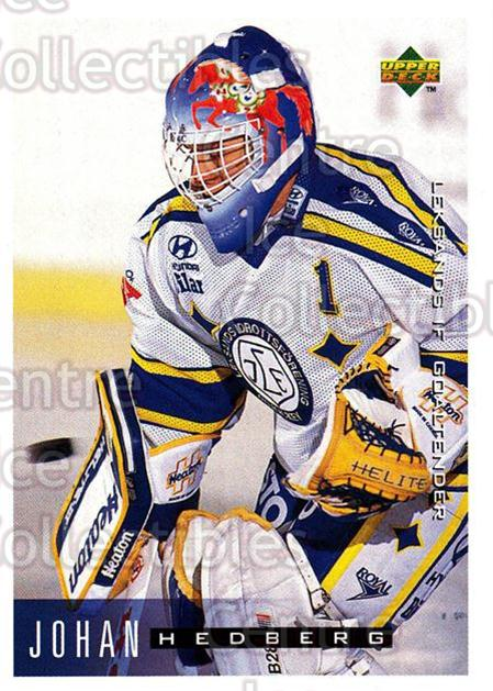 1995-96 Swedish Upper Deck #94 Johan Hedberg<br/>9 In Stock - $2.00 each - <a href=https://centericecollectibles.foxycart.com/cart?name=1995-96%20Swedish%20Upper%20Deck%20%2394%20Johan%20Hedberg...&quantity_max=9&price=$2.00&code=184819 class=foxycart> Buy it now! </a>