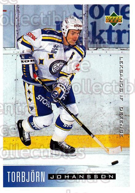 1995-96 Swedish Upper Deck #96 Torbjorn Johansson<br/>8 In Stock - $2.00 each - <a href=https://centericecollectibles.foxycart.com/cart?name=1995-96%20Swedish%20Upper%20Deck%20%2396%20Torbjorn%20Johans...&quantity_max=8&price=$2.00&code=184821 class=foxycart> Buy it now! </a>