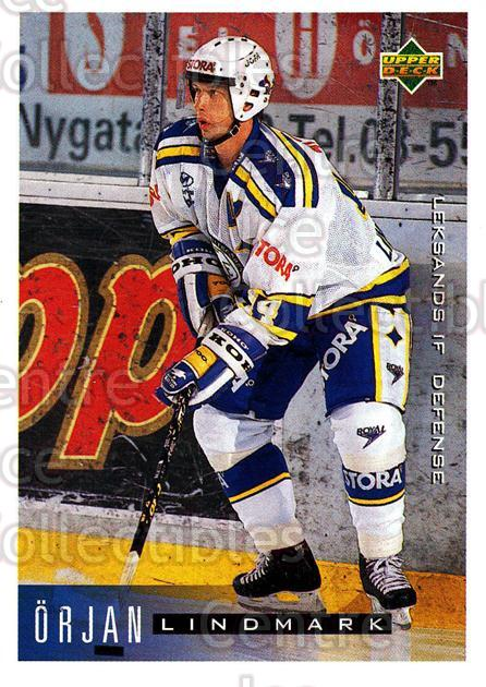 1995-96 Swedish Upper Deck #98 Orjan Lindmark<br/>12 In Stock - $2.00 each - <a href=https://centericecollectibles.foxycart.com/cart?name=1995-96%20Swedish%20Upper%20Deck%20%2398%20Orjan%20Lindmark...&quantity_max=12&price=$2.00&code=184823 class=foxycart> Buy it now! </a>