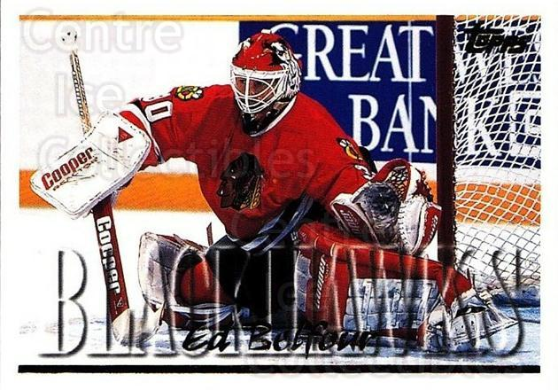 1995-96 Topps #130 Ed Belfour<br/>3 In Stock - $1.00 each - <a href=https://centericecollectibles.foxycart.com/cart?name=1995-96%20Topps%20%23130%20Ed%20Belfour...&quantity_max=3&price=$1.00&code=184859 class=foxycart> Buy it now! </a>