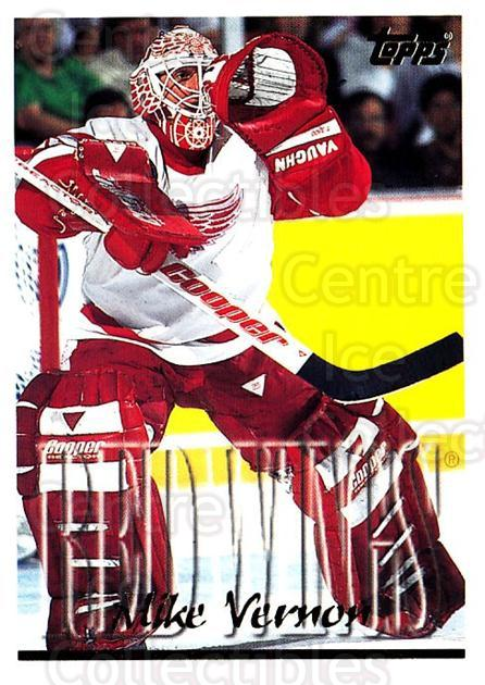 1995-96 Topps #160 Mike Vernon<br/>3 In Stock - $1.00 each - <a href=https://centericecollectibles.foxycart.com/cart?name=1995-96%20Topps%20%23160%20Mike%20Vernon...&quantity_max=3&price=$1.00&code=184891 class=foxycart> Buy it now! </a>