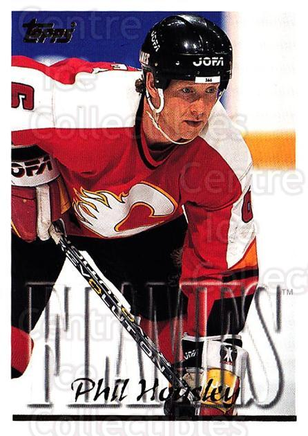 1995-96 Topps #166 Phil Housley<br/>4 In Stock - $1.00 each - <a href=https://centericecollectibles.foxycart.com/cart?name=1995-96%20Topps%20%23166%20Phil%20Housley...&quantity_max=4&price=$1.00&code=184897 class=foxycart> Buy it now! </a>