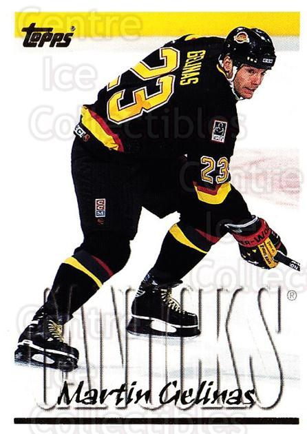 1995-96 Topps #176 Martin Gelinas<br/>3 In Stock - $1.00 each - <a href=https://centericecollectibles.foxycart.com/cart?name=1995-96%20Topps%20%23176%20Martin%20Gelinas...&quantity_max=3&price=$1.00&code=184908 class=foxycart> Buy it now! </a>