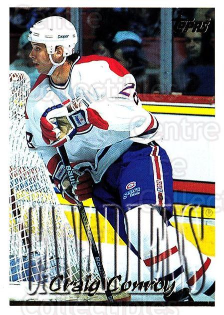 1995-96 Topps #187 Craig Conroy<br/>4 In Stock - $1.00 each - <a href=https://centericecollectibles.foxycart.com/cart?name=1995-96%20Topps%20%23187%20Craig%20Conroy...&quantity_max=4&price=$1.00&code=184920 class=foxycart> Buy it now! </a>