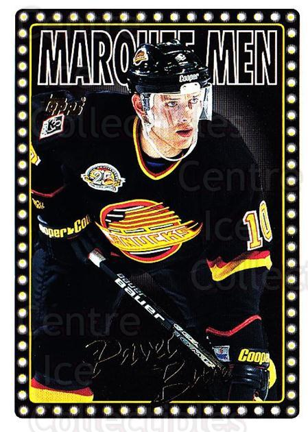 1995-96 Topps #20 Pavel Bure<br/>2 In Stock - $1.00 each - <a href=https://centericecollectibles.foxycart.com/cart?name=1995-96%20Topps%20%2320%20Pavel%20Bure...&quantity_max=2&price=$1.00&code=184935 class=foxycart> Buy it now! </a>