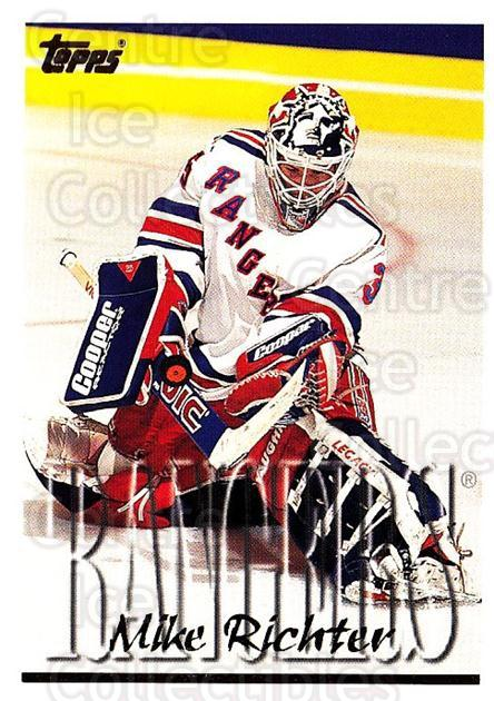 1995-96 Topps #212 Mike Richter<br/>4 In Stock - $1.00 each - <a href=https://centericecollectibles.foxycart.com/cart?name=1995-96%20Topps%20%23212%20Mike%20Richter...&quantity_max=4&price=$1.00&code=184948 class=foxycart> Buy it now! </a>