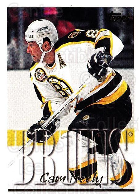 1995-96 Topps #221 Cam Neely<br/>3 In Stock - $1.00 each - <a href=https://centericecollectibles.foxycart.com/cart?name=1995-96%20Topps%20%23221%20Cam%20Neely...&quantity_max=3&price=$1.00&code=184958 class=foxycart> Buy it now! </a>