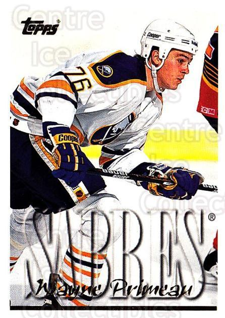 1995-96 Topps #222 Wayne Primeau<br/>4 In Stock - $1.00 each - <a href=https://centericecollectibles.foxycart.com/cart?name=1995-96%20Topps%20%23222%20Wayne%20Primeau...&quantity_max=4&price=$1.00&code=184959 class=foxycart> Buy it now! </a>
